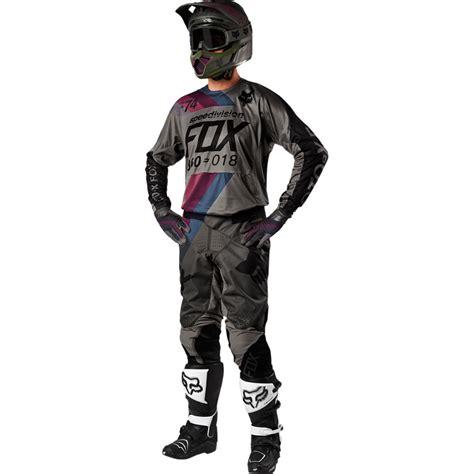 motocross gear combos 2018 fox racing 360 draftr gear kit charcoal sixstar racing