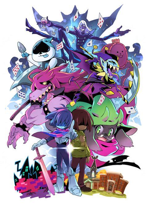 deltarune zerochan anime image board