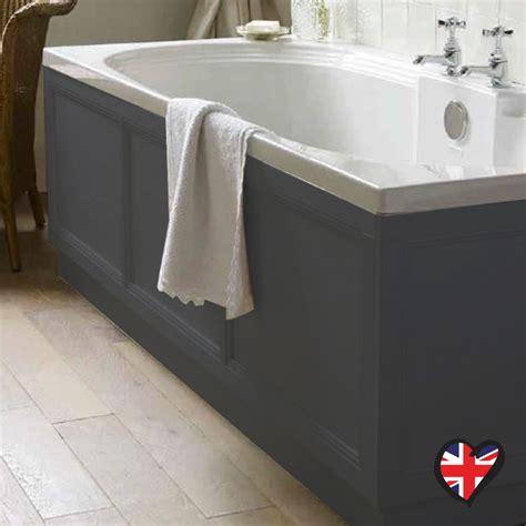bathroom towel designs insolito carolla 1700 bath panel charcoal grey buy