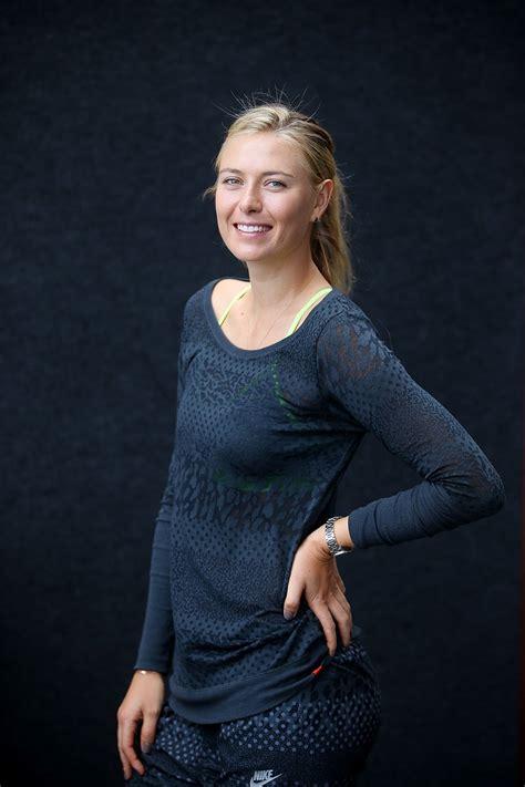 Maria Sharapova Brisbane International Portraits