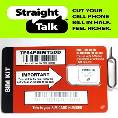 talk iphone sim card talk t mobile standard or micro sim card for gsm