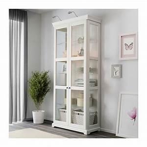 Ikea Billy Vitrine : liatorp vitrine blanc einrichten wohnen pinterest vitrinenschrank wei vitrinenschrank ~ Markanthonyermac.com Haus und Dekorationen