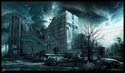 apocalypse disaster scenes natural krasnodar russia town george pt behance published iliketowastemytime