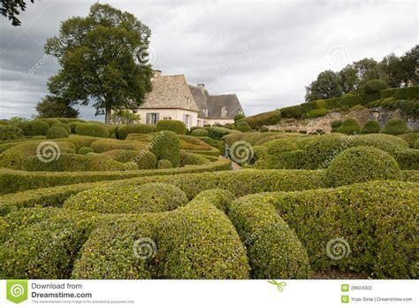le jardin marqueyssac france stock photography image