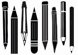 Pencil Silhouette | silouettes | Pinterest | Silhouettes ...