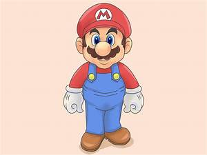 How to Draw Mario and Luigi (with Pictures) - wikiHow