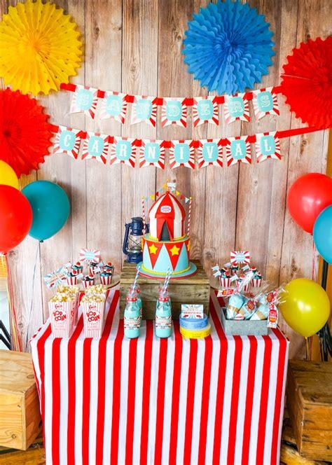 karas party ideas backyard carnival party karas party