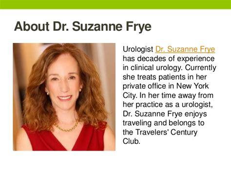 Suzanne Frye Urologist accomplishments populate travelers century club