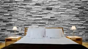 wandsteine schlafzimmer wandsteine riverside steingrau walldesign56 wandtattoos fototapete poster