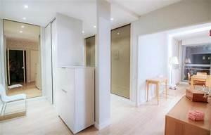 Amenagement D Un Hall D Entrée : r novation hall entr e d 39 appartement l 39 atelier pigment ~ Premium-room.com Idées de Décoration