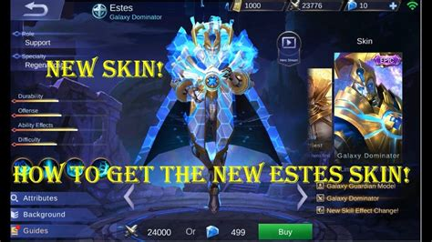 How To Get The New Estes Skin! ( Galaxy