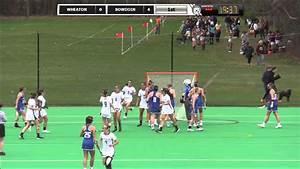 Bowdoin Women s Lacrosse vs Wheaton 4 23 16 – Hockey Alley