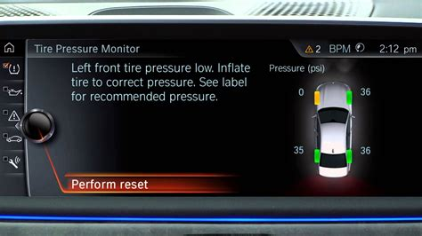 Bmw Tire Pressure Monitor reset your tire pressure monitor tpms bmw genius how