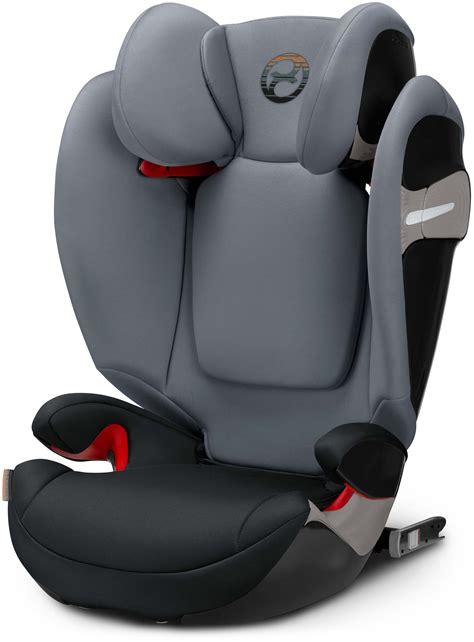 Cybex Solution S Fix Pepper Black Kindersitz Gruppe Ii Iii