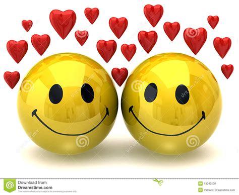 smileys  love stock illustration illustration