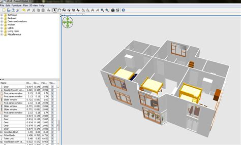 Sweet Home 3d Free by Free Floor Plan Software Sweethome3d Review
