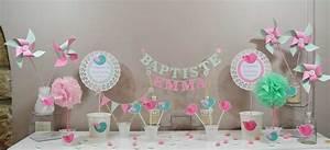 Idée Bapteme Fille : emejing decoration bapteme gris et rose gallery design trends 2017 ~ Preciouscoupons.com Idées de Décoration