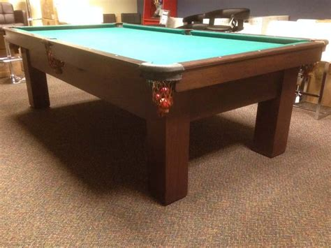 competition pool table size brunswick monarch antique pool table for sale in