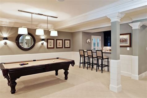 basement with pool table and wall sconces ideas for the house basement pool painting