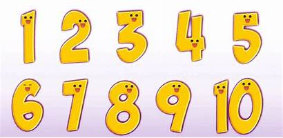 Transparent Clipart Numbers Number Yellow Backgrounds Natural