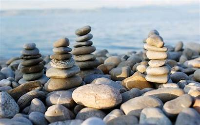 Sea Stones Wallpapers Near Nature Rocks Stacked