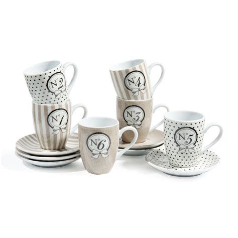 coffret  tasses  soucoupes  cafe mode salon de  tasse  soucoupe tasse cafe  cafe