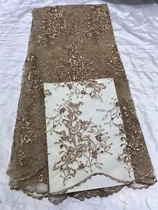 pas cher de haute qualite tissu brode de dentelle With tissus taffetas pour robe