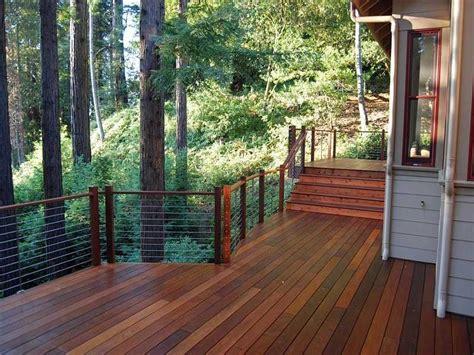 bright ipe decking fashion balcony fence kit patio porch