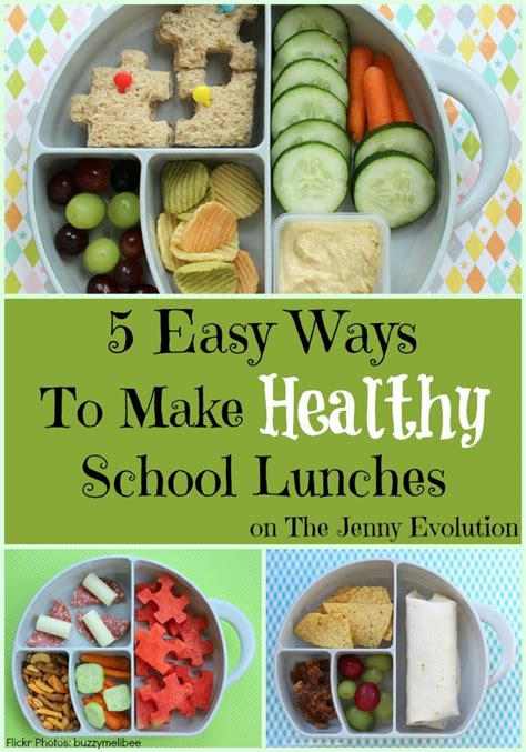 5 Easy Ways To Make Healthy School Lunches For Your Children