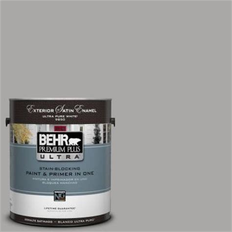 behr premium plus ultra 1 gal ul260 7 cathedral gray