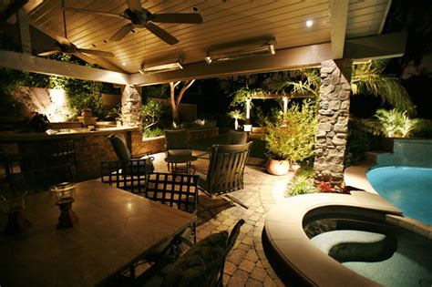 enchanting outdoor lighting  land mechanics  flickr