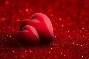 Foto Valentinstag Herz 2 Rot