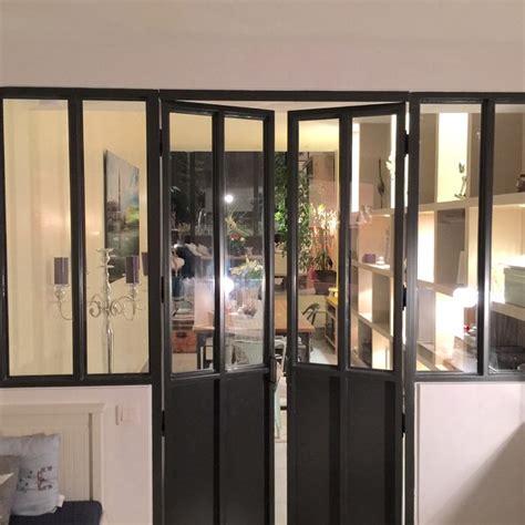 verri鑽e de cuisine poser une verriere interieure maison design mochohome com