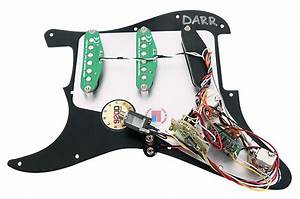 920d Fishman Fluence Loaded Pickguard Fender Strat L R