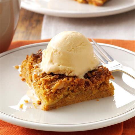 pumpkin dessert great pumpkin dessert recipe taste of home