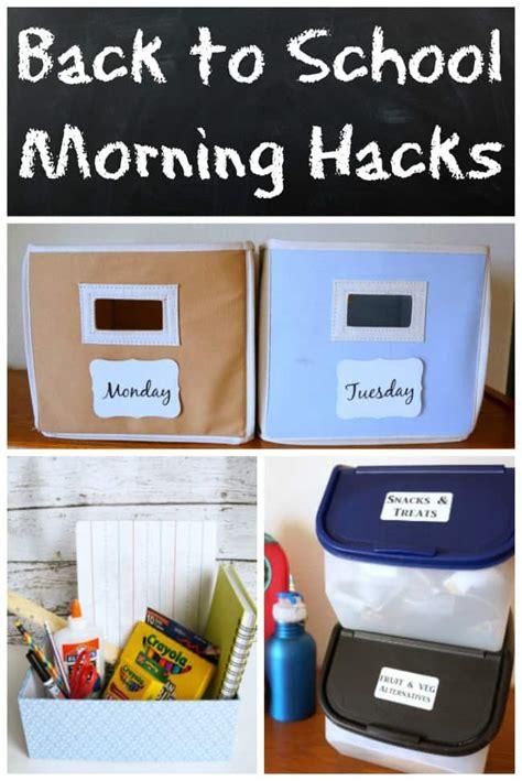 back to school hacks to back to school hacks to remove morning stress creative ramblings