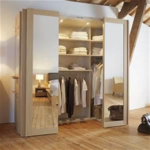 Un dressing dans une petite chambre c'est possible