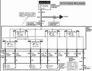 Mercury Grand Marquis Questions - Mercury Grand Marquis 1997 Reclining Seat Diagram