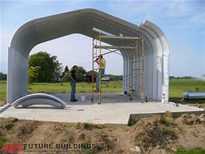 diy steel buildings do it yourself construction future With bolt up metal building kits