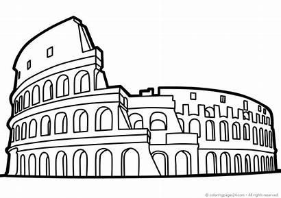 Edificios Famous Buildings Famosos Coloring Edifici Colorear