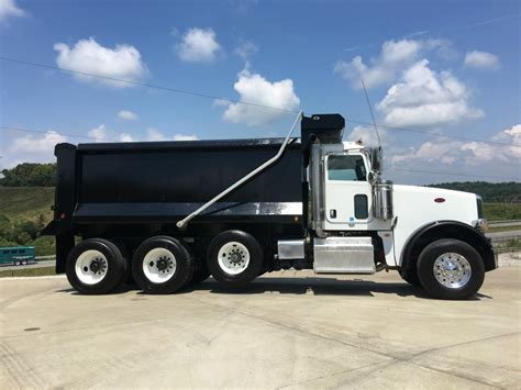 2016 Peterbilt 367 Tri Axle Dump Truck for sale