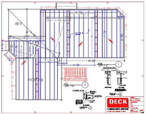 deck plans com deck plans with tub studio design gallery best