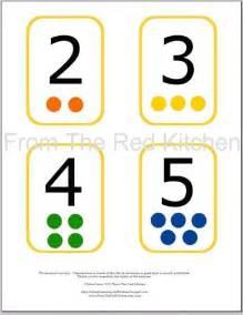 Printable Number Flash Card 1