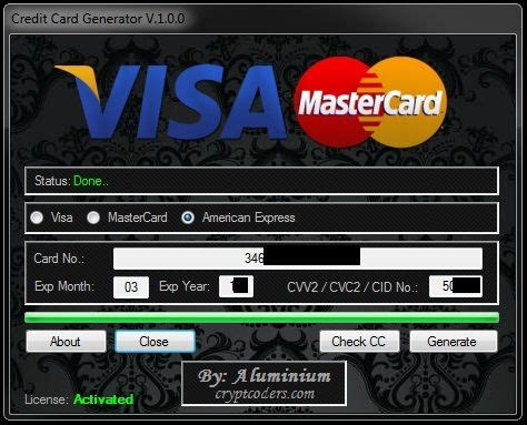 credit card generator credit card hacks credit card app
