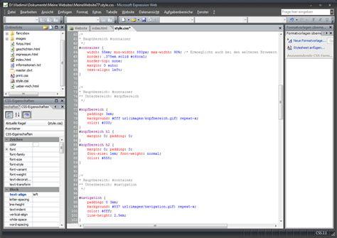 dynamische webvorlagen fuer expression web  erstellen