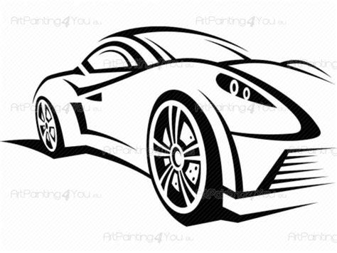 stickers muraux sport voiture de course 2107fr