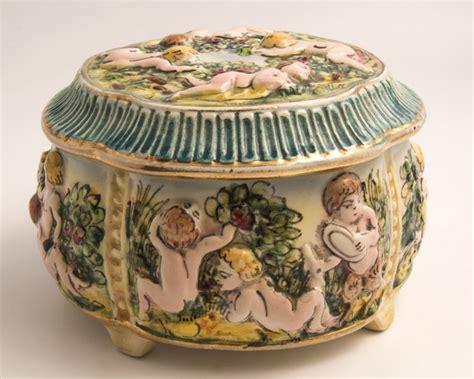 la cuisine de mimi 1950 vintage capodimonte porcelain bowl antique object