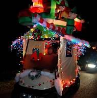 golf cart christmas decorations ideas - Golf Cart Christmas Decorations