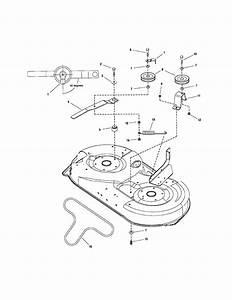 42 U0026quot  Deck Idler Arm  Hitch Diagram  U0026 Parts List For