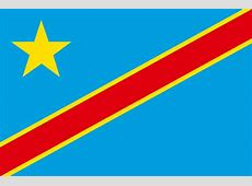 KongoKinshasas flagga